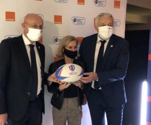 Orange sponsor officiel de la Coupe du Monde de Rugby France 2023