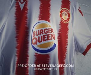 Sponsoring – Burger King change son logo en « Burger Queen » sur le maillot d'une équipe de football féminin (Stevenage FC)