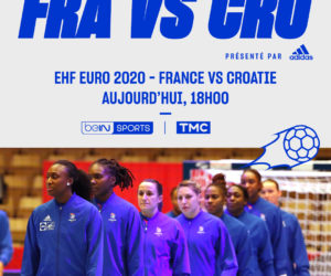 Euro 2020 – Handball Féminin : TMC va diffuser la 1/2 finale France – Croatie