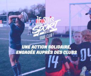 «Je suis Sport», la plateforme merchandising qui apporte un soutien financier aux clubs amateurs