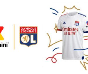 Sponsoring – Konbini va s'afficher sur le maillot de l'Olympique Lyonnais