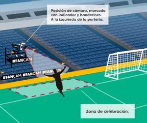 LaLiga installe une «FanCam» dans les stades espagnols