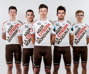 L'identité visuelle et le nouveau maillot de l'équipe cycliste AG2R CITROËN TEAM dévoilés