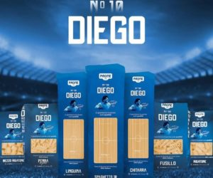 «Pasta Maradona» Une marque de pâtes Diego Maradona lancée en Italie avant la disparition de l'argentin (N°10 Diego)