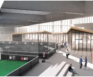 L'Olympique Lyonnais et Le Five lancent le complexe de foot indoor «Le Five OL»