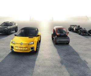 Renault dévoile les premières images de la Formule 1 Alpine A521 (provisoire) et de la R5 Prototype