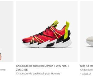 Bon Plan : Nike lance un code promotionnel supplémentaire sur ses soldes d'hiver 2021