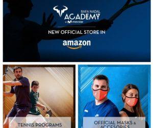L'académie de tennis de Rafael Nadal s'associe à Amazon pour booster ses revenus