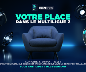 beIN SPORTS invite des supporters de la Ligue 2 BKT en plateau chaque week-end