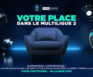 beIN SPORTS invite des supporters de la Ligue 2 BKT en plateau chaque week-end