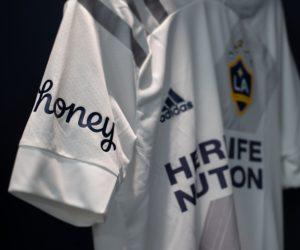 Sponsoring – Après les Clippers en NBA, Honey s'affiche sur le maillot du Los Angeles Galaxy en MLS