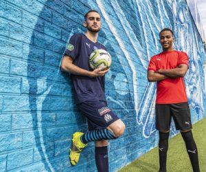 Des nouveaux maillots «d'amateurs» conçus par Puma pour l'Olympique de Marseille en Coupe de France