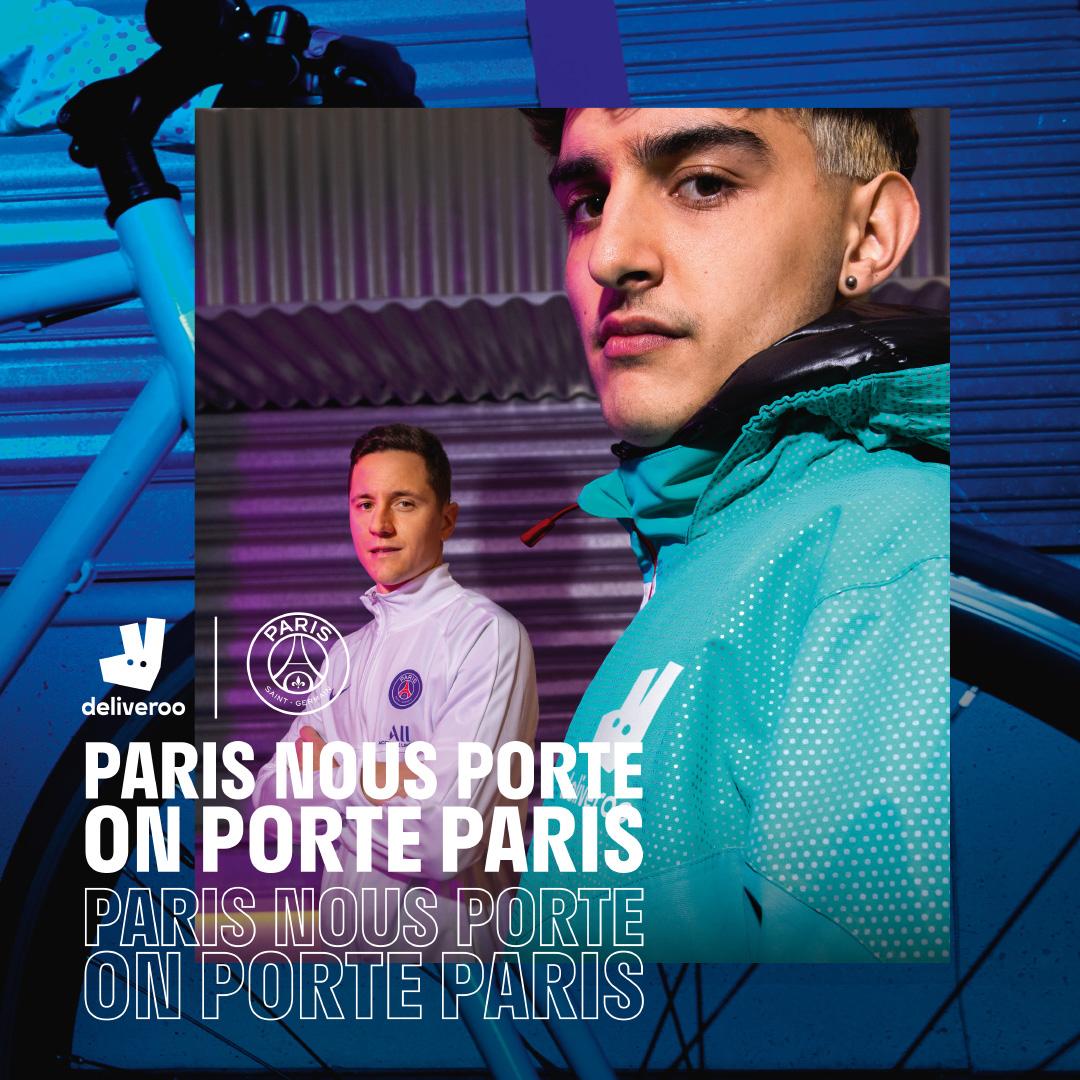 Activation - Deliveroo va fournir 5 000 vestes PSG à ses livreurs - Championnat d'Europe de Football 2020