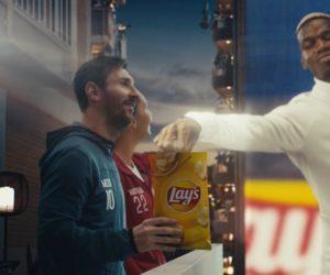 Lay's dévoile sa nouvelle publicité «Apartment Arena» (Messi, Pogba) avant la phase finale de l'UEFA Champions League 2020-2021