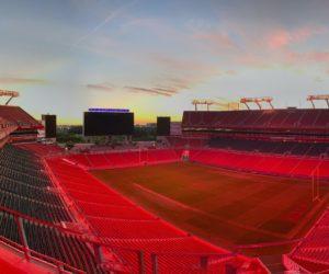Fan Experience – De l'importance de l'éclairage d'un stade, l'exemple du Raymond James Stadium de Tampa Bay qui accueille le Super Bowl 2021
