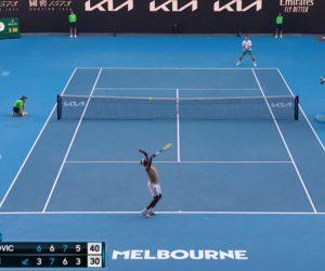 Tennis – De la publicité virtuelle sur les courts de l'Open d'Australie 2021