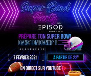 La Fédération Française de Foot US surfe sur le Super Bowl et organise une «Super Bowl Party» sur YouTube