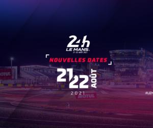 Auto – Les 24 Heures du Mans déplacées à la fin des vacances estivales 2021 (21 et 22 août)
