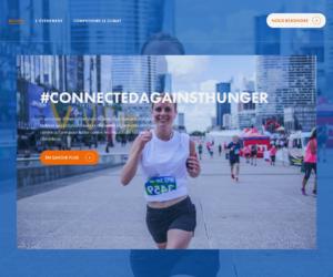 Action Contre la Faim lance le challenge sportif «Connected Against Hunger» à destination des entreprises