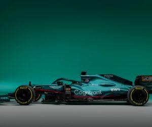 F1 – Aston Martin Cognizant dévoile sa monoplace 2021 et ses principaux sponsors