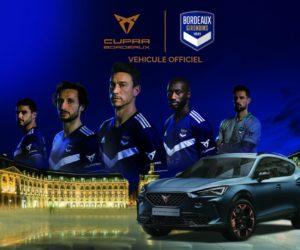 La marque automobile Cupra devient partenaire officiel des Girondins de Bordeaux