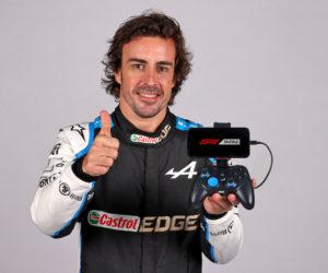 F1 – Alpine dévoile sa manette de jeu pour mobile en partenariat avec T2M