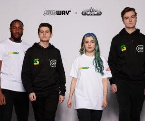 Subway nouveau sponsor de l'équipe eSport de David Beckham (Guild Esports)