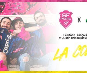 Activation – Le Stade Français et Justin Bridou s'invitent chez les supporters