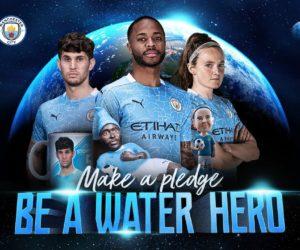 «Be a Water Hero» : Manchester City poursuit son engagement écologique aux côtés de Xylem