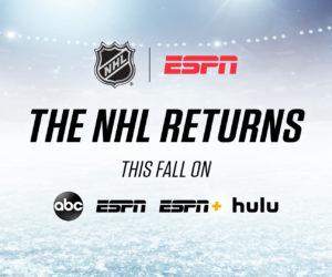 Walt Disney (ESPN, ABC, Hulu) s'offre une partie des droits TV et streaming de la NHL sur 2021-2028