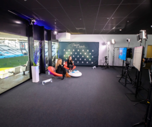 B2B – L'Olympique de Marseille lance la location d'un studio TV avec vue sur la pelouse de l'Orange Vélodrome