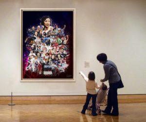 La startup française ArtDesignStory séduit la planète sport avec ses oeuvres mêlant art et technologie