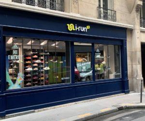 i-Run lance son premier Concept Store dédié au running en plein Paris