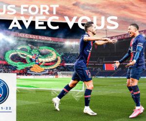 L'agence Lafourmi accompagne le PSG pour sa campagne d'abonnement saison 2021-2022