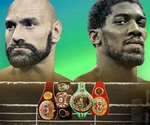 Boxe – Anthony Joshua et Tyson Fury signent un contrat pour 2 nouveaux combats qui s'annoncent très lucratifs