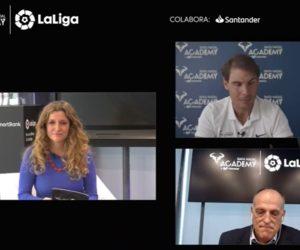 L'académie de tennis de Rafael Nadal et LaLiga s'associent