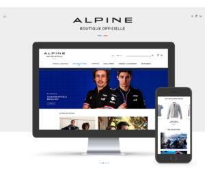 F1 – Alpine dévoile sa nouvelle boutique en ligne signée ORECA