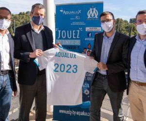 Aqualux devient «partenaire région» de l'Olympique de Marseille