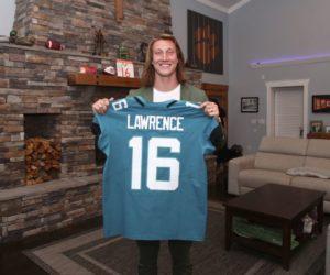 NFL – Qui sont les sponsors de Trevor Lawrence, choisi par les Jaguars en numéro 1 lors de la Draft 2021