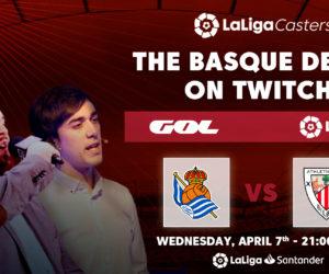 Football – Grande première en Espagne avec la diffusion en direct d'un match de LaLiga sur Twitch (Real Sociedad – Athletic Club)