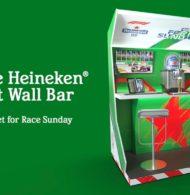 Fan Experience – Heineken invente le «Pit Wall bar» pour les fans de Formule 1