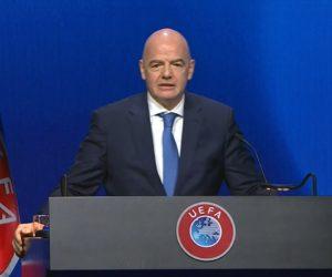 La Super League fait réagir les dirigeants de l'UEFA, de la FIFA et du CIO lors du congrès de l'UEFA