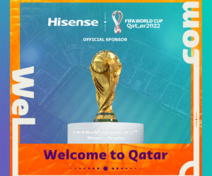 Football – Hisense sponsor officiel de la Coupe du Monde Qatar 2022
