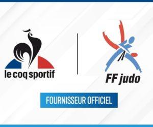 Le Coq Sportif devient fournisseur officiel de la FF Judo