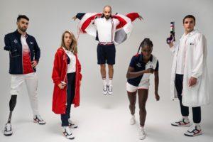 Lacoste dévoile les tenues des athlètes français pour les Jeux Olympiques de Tokyo 2020 (Podium, Village, Cérémonie)