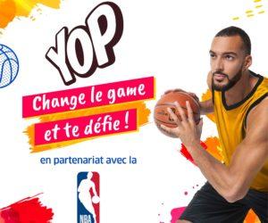 Interview – Pourquoi la marque YOP mise sur la NBA et Rudy Gobert