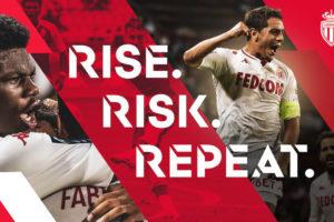 L'AS Monaco dévoile sa nouvelle signature «RISE. RISK. REPEAT» et un «nouveau» logo