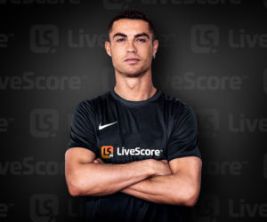 Cristiano Ronaldo nouvel ambassadeur de l'application LiveScore (stats et streaming)