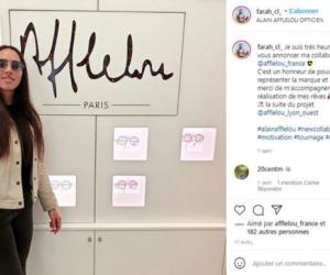 Athlétisme – Afflelou nouveau sponsor de Farah Clerc
