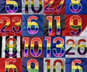 Les clubs de Ligue 1 et Ligue 2 mobilisés ce week-end pour la campagne «Homos ou Hétéros, on porte tous le même maillot»